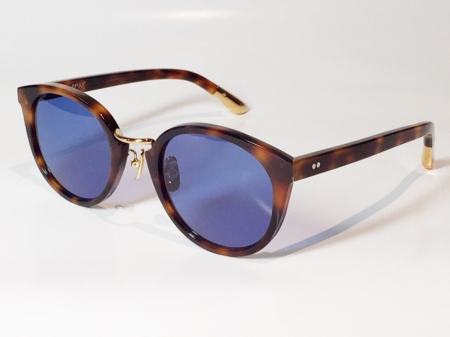 A.D.S.R.(エーディーエスアール) DARRYL [ ダリル ] 14 ( Havana Brown / Gold / Blue (Black) Lens )