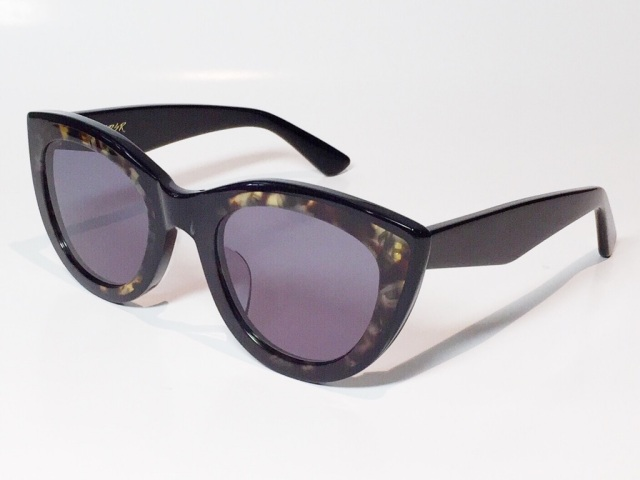 A.D.S.R.(エーディーエスアール) LAURYN  02 ( Shiny Black & Havana Yellow / Black Lens )