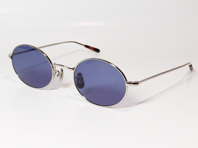 A.D.S.R.(エーディーエスアール) WOLFF  02(b) ( Silver / Blue Lens )