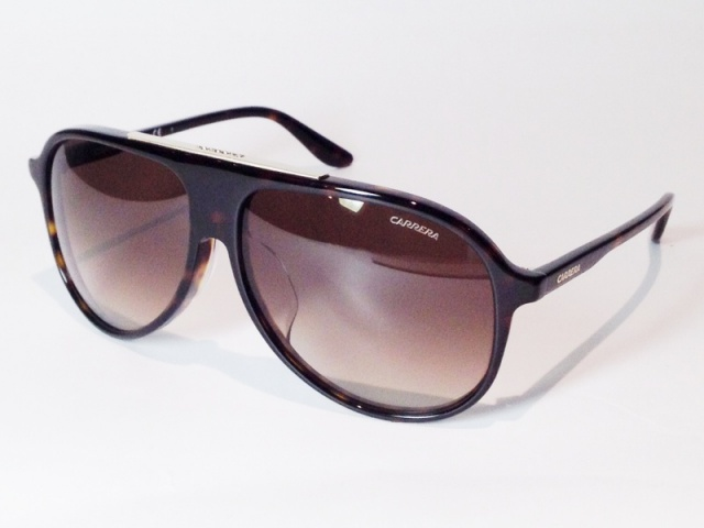 CARRERA(カレラ) CARRERA 6015/F/S 086HA ( Havana / Brown Shaded )