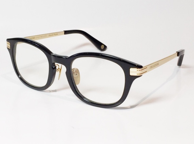 FREEDOM SPECTACLES (フリーダムスペクタクルス) LEO  C.01 ( Black / Clear )