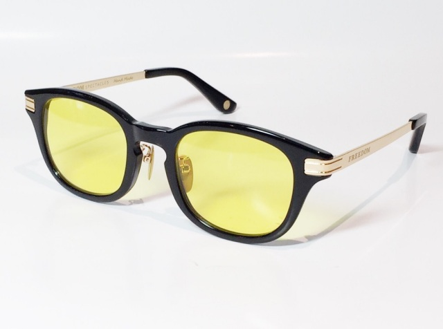 FREEDOM SPECTACLES (フリーダムスペクタクルス) LEO  C.05 ( Black / Yellow )