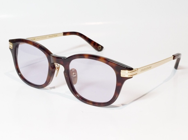 FREEDOM SPECTACLES (フリーダムスペクタクルス) LEO  C.07 ( Tortoise / Purple )