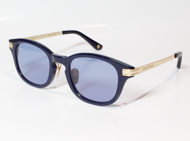FREEDOM SPECTACLES (フリーダムスペクタクルス) LEO  C.08 ( Navy / Blue )