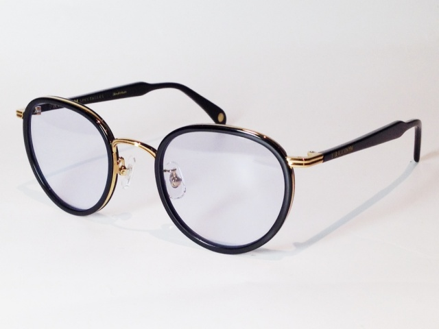 FREEDOM SPECTACLES (フリーダムスペクタクルス) MARLON  COLOR. 11 ( BLACK - GOLD / BLUE )
