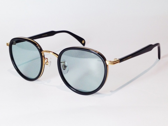 FREEDOM SPECTACLES (フリーダムスペクタクルス) MARLON  COLOR. 12 ( BLACK - GOLD / GREEN )
