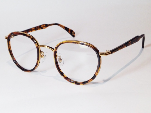 FREEDOM SPECTACLES (フリーダムスペクタクルス) MARLON  COLOR. 13 ( TORTOISE - GOLD / CLEAR )