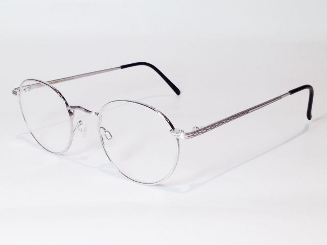 MOSCOT(モスコット) DOV  size:48 ( SILVER )