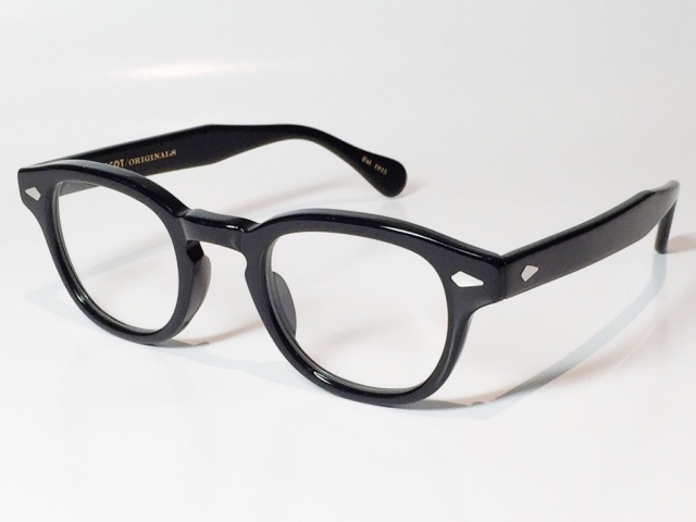 MOSCOT(モスコット) LEMTOSH  size:44 (BLACK/CLEAR)
