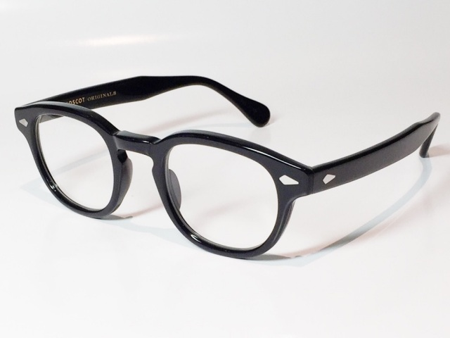 MOSCOT(モスコット) LEMTOSH  size:46 (BLACK/CLEAR)