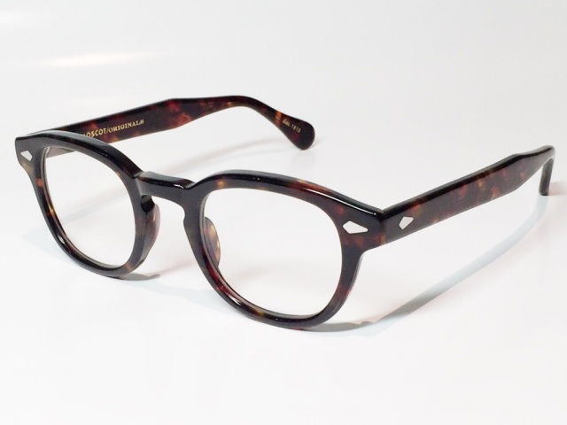 MOSCOT(モスコット) LEMTOSH  size:46 (TORTOISE/CLEAR)