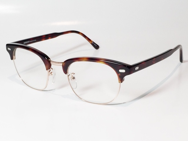 MOSCOT(モスコット) YUKEL  size:48 ( TORTOISE - GOLD / CLEAR )