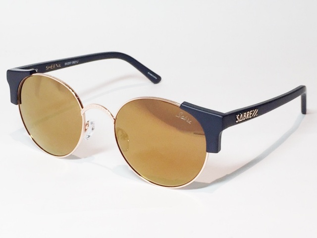 SABRE(セイバー) SHEENA SV207-5621J ( MT NAVY - GOLD METAL / GOLD MIRROR )