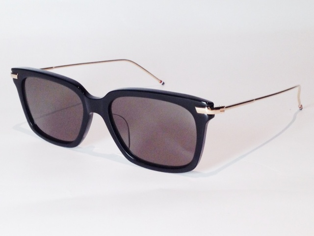THOM BROWNE(トム ブラウン) TB-701A-T-BLK-GOLD-53 ( BLACK - 12k GOLD / G15 LENS)